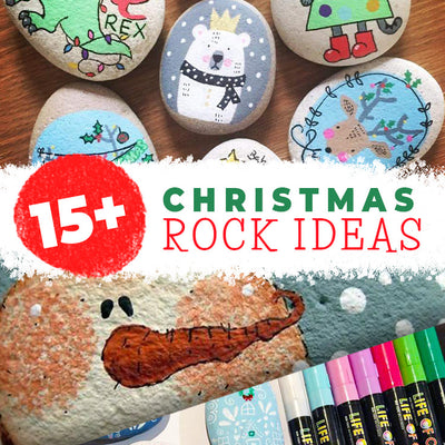 15+ Christmas rocks ideas you can make right now!