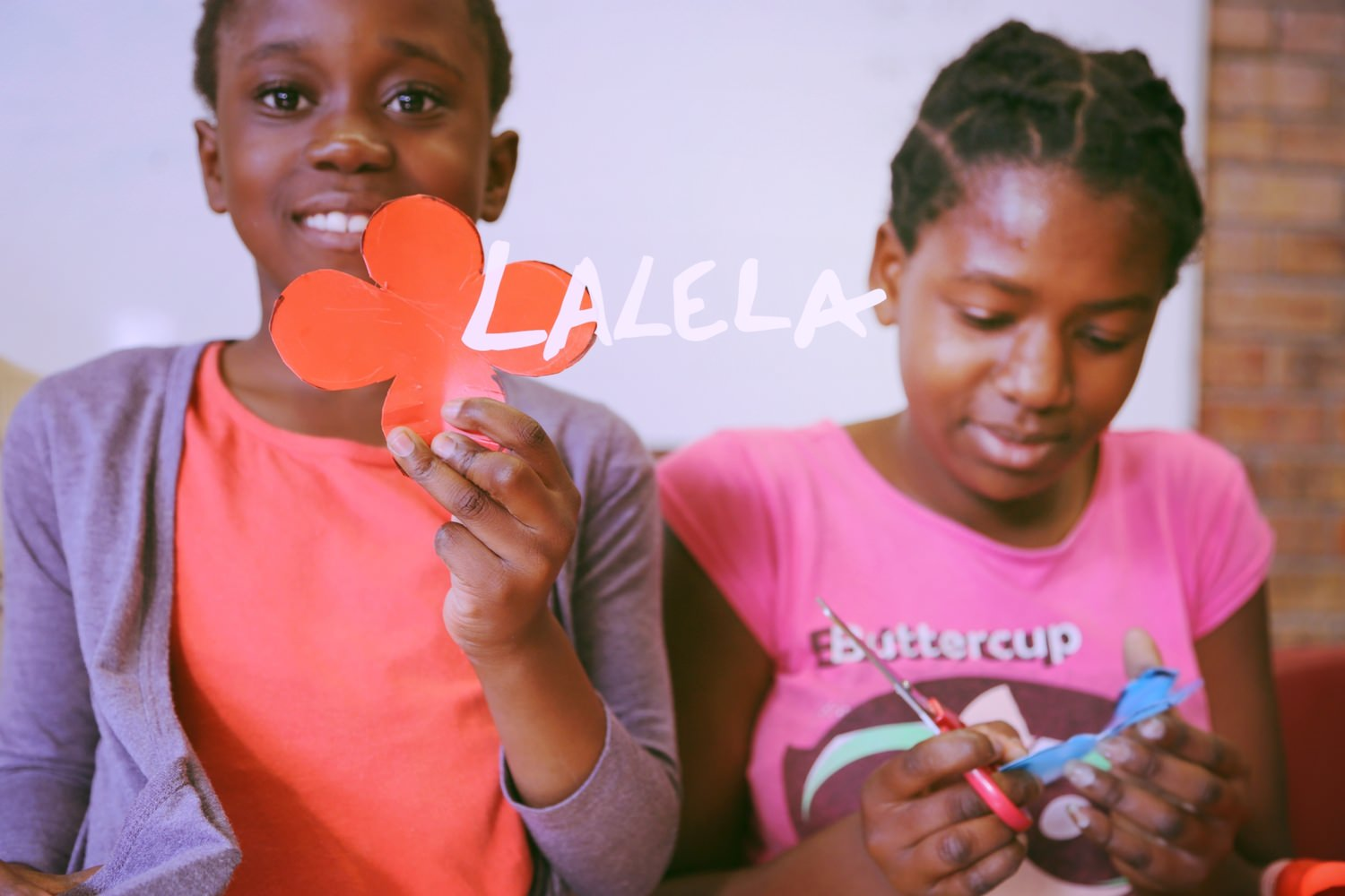 This year Life of Colour's charity donation was made to LALELA