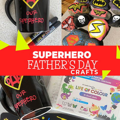 Superhero Father's Day Crafts