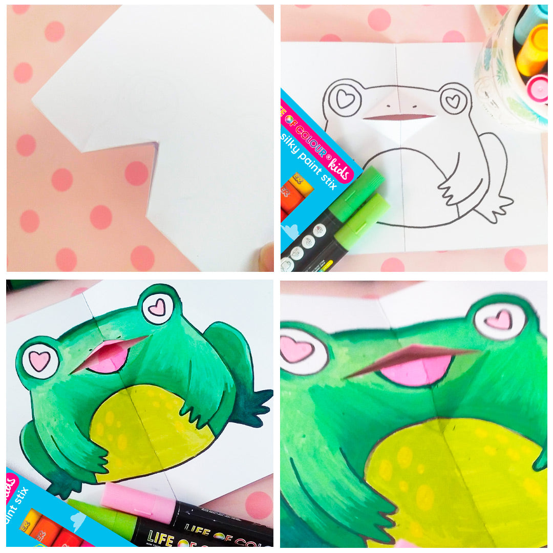 Paint Pens and Paper Kit Activity Sheet