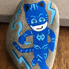 Easy and fun ideas to get kids into rock painting