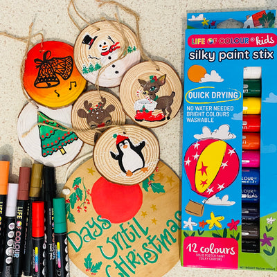 Christmas Tree Decorations for Creative Kids!
