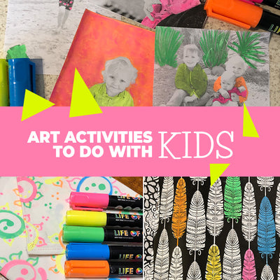 10 Art activities to do with kids