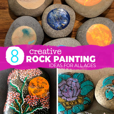 8 creative rock painting ideas for all ages!
