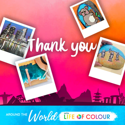 Life of Colour takes you on a journey Around the World