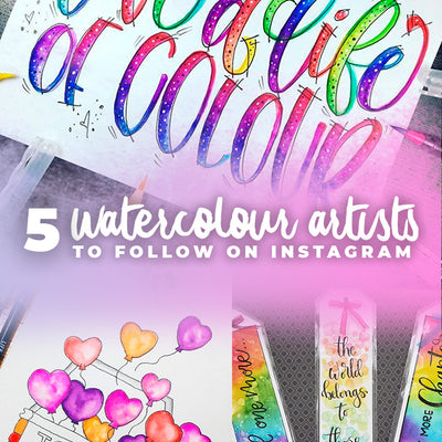 5 Watercolour artists to learn from on Instagram