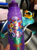 paint on bottle with life of colour pens