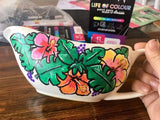 paint on gravy pot with life of colour pens