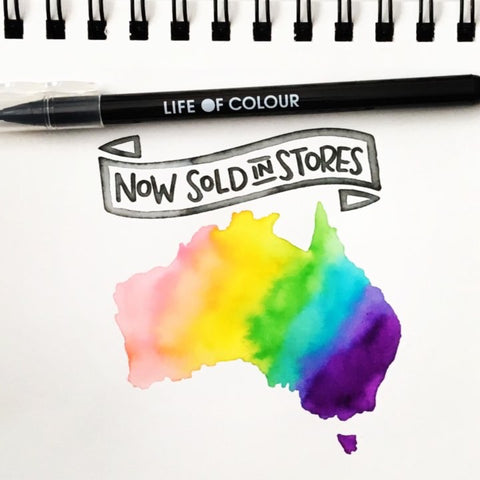 life of colour now sold in stores