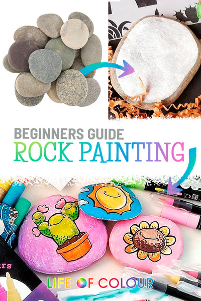 Beginners guide to rock painting - stone painting Australia and New Zealand