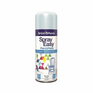 Can I use British Paints Spray Easy for priming rocks?