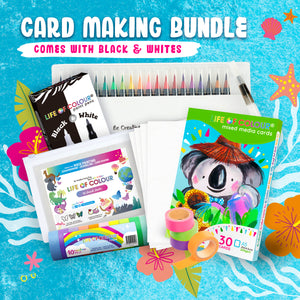 Life of Colour | Shop: Card Making Kit | Australia and New Zealand