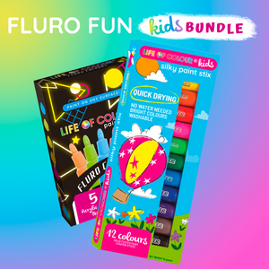Life of Colour | Shop: Fluro Fun Kids Bundle | Australia and New Zealand
