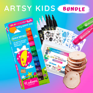 Life of Colour | Shop: Artsy Kids Bundle | Australia and New Zealand