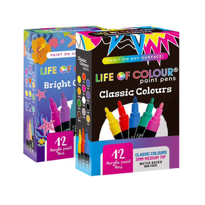 Double Bundle: Any Two Paint Pen Sets