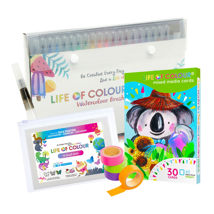 Journaling and Card Making Watercolour Bundle
