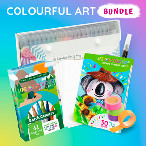 Life of Colour | Shop: Colourful Art Bundle | Australia and New Zealand