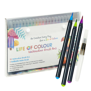Life of Colour | Shop: Watercolour Brush Pen Set | Australia and New Zealand
