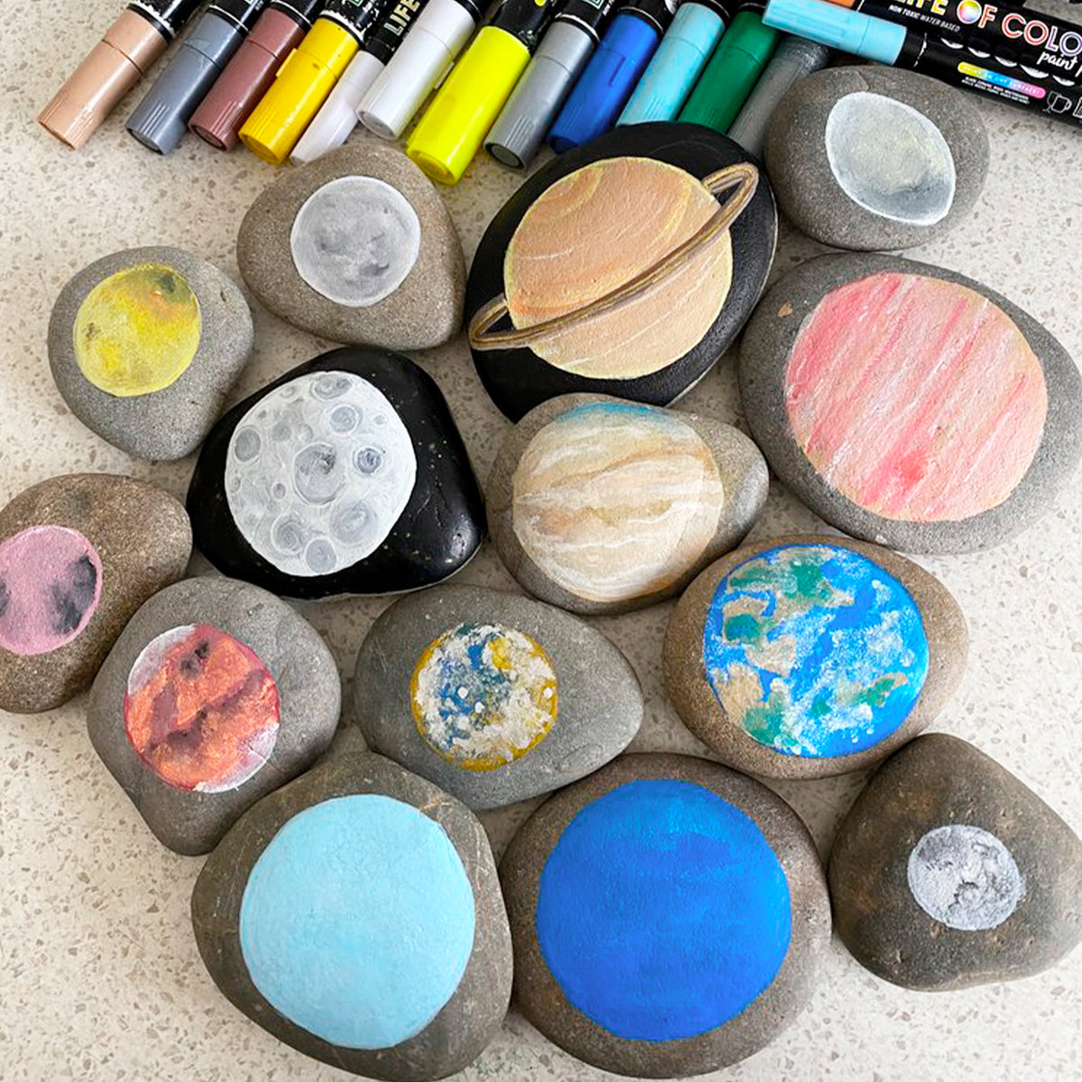 Creative Kids All About Rock Painting Kit