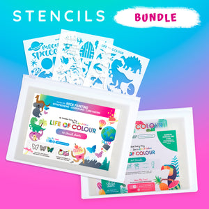 Life of Colour | Shop: Stencils Bundle | Australia and New Zealand
