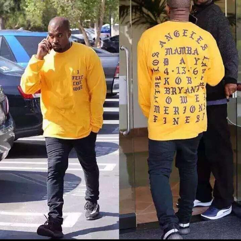 ... long sleeve t shirt · Kanye West I Feel Like Kobe T-Shirt ... 2fcef3944