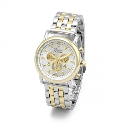 Two Tone Stainless Steel Women's Fashion Watch