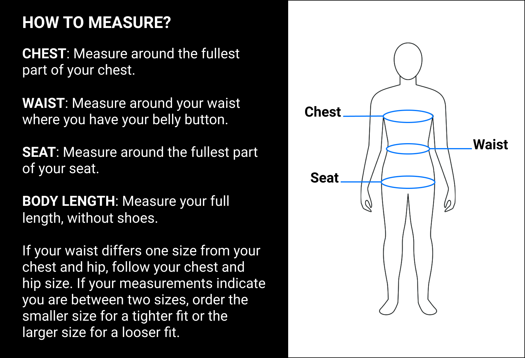 Cortazu size guide how to measure
