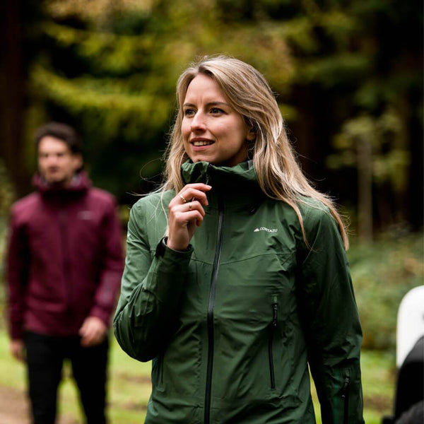 Hard Shell (All Season) Dark Green | Womens