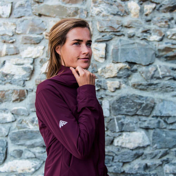 Stretch jacket (all season) Burgundy | Womens