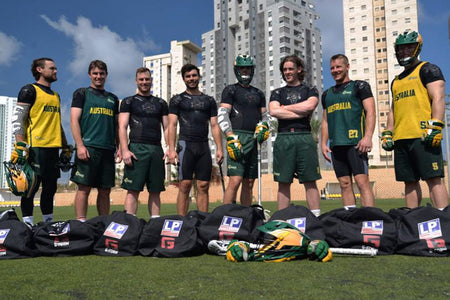 Aussie Sharks take on World Lacrosse Champs