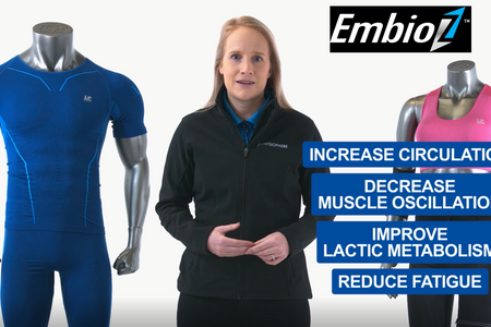 LP Support EmbioZ Compression Sleeve and Compression Apparel range