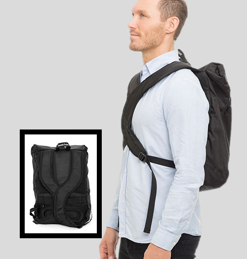 Swedish Posture Corrector Vertical Backpack
