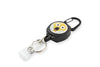 Rel Amigo Retractable I.D. Badge Reel & Key Holder - Emoji Shocked & Suprised