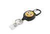 Rel Amigo Retractable I.D. Badge Reel & Key Holder - Emoji Confused Face