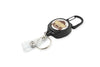 Rel Amigo Retractable I.D. Badge Reel & Key Holder - Emoji Monkey See No Evil