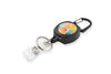 Rel Amigo Retractable I.D. Badge Reel & Key Holder - Small Rainbow Crystals
