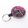 The Rel Original Retractable Key Reel with Belt Clip Muddy Girl Camo