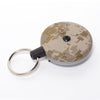 The Rel Original Retractable Key Reel with Belt Clip Digital Desert