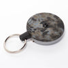 The Rel Original Retractable Key Reel with Belt Clip Kryptek Blue