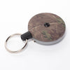 The Rel Original Retractable Key Reel with Belt Clip Camo Green