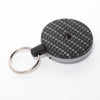 The Rel Original Retractable Key Reel with Belt Clip Carbon Fiber