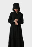 "Long Sleeve ""Black Drongo"" Dress"