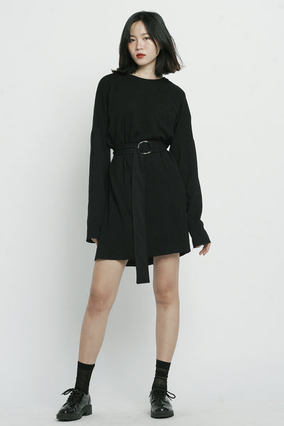 Black Dhalia Long Sleeved Dress