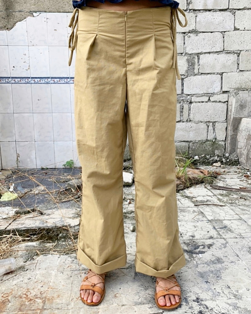 Dakota Paper Bag Trousers