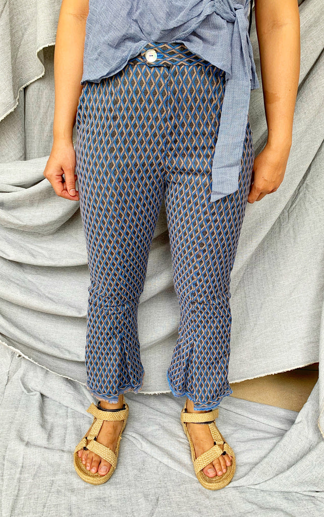 Baba Pants in Cotton Twill
