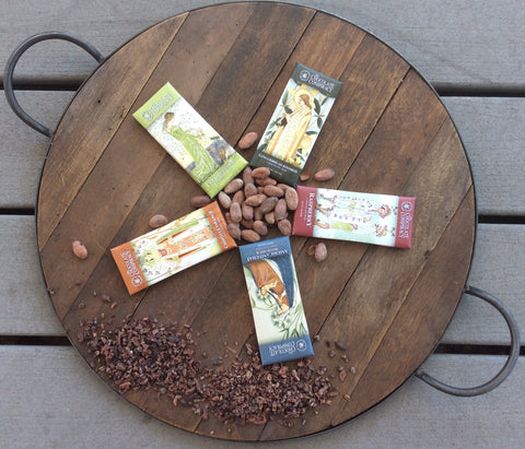 Buy 4 Bars Get 1 Bar Free - 5 Pack Specialty Chocolate Bar Bundle