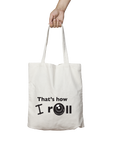Canvas Carry Bag - White