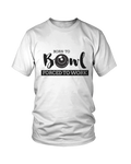 Born to BOWL, forced to work - MEN'S T-SHIRT White