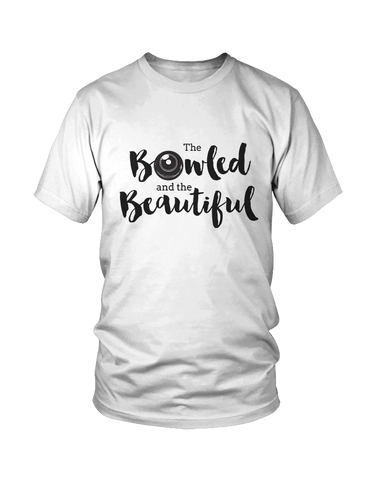 BOWLED and beautiful - MEN'S T-SHIRT White