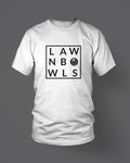 LAWNBOWLS - MEN'S T-SHIRT White